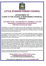 Parish Clerk Vacancy
